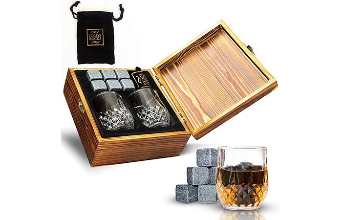 Lords Rocks Cold Stones Gift Set