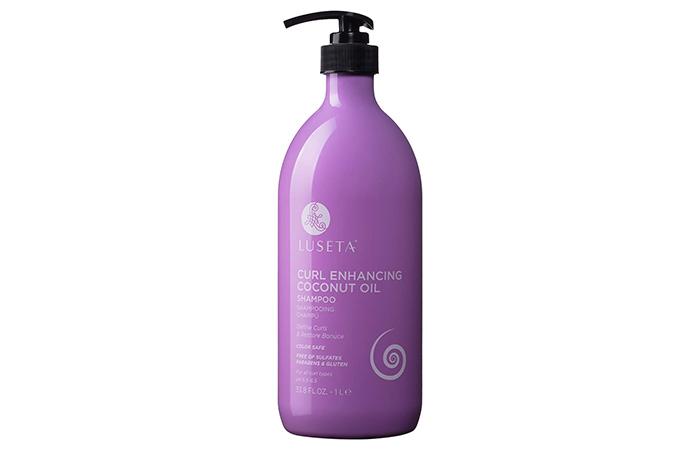Luseta Curl Enhancing Coconut Oil Shampoo
