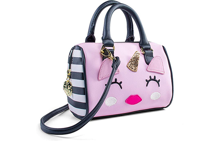 Luv Betsey Harly Kitch Mini Barrel Crossbody