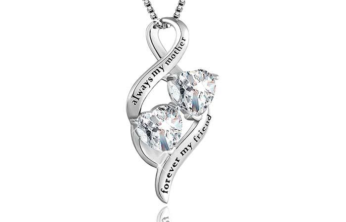 MUATOGIML Infinity Pendant Necklace