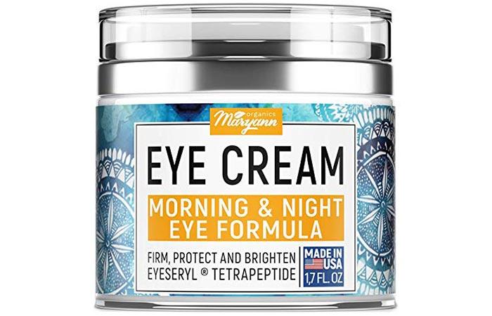 Maryann Organics Eye Cream Morning & Night Eye Formula