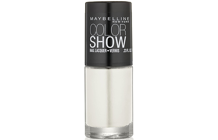 Maybelline New York Color Show Nail Lacquer – Porcelain Party