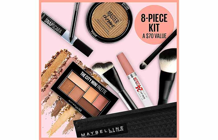 Maybelline New York Glow Getter Makeup Gift Set