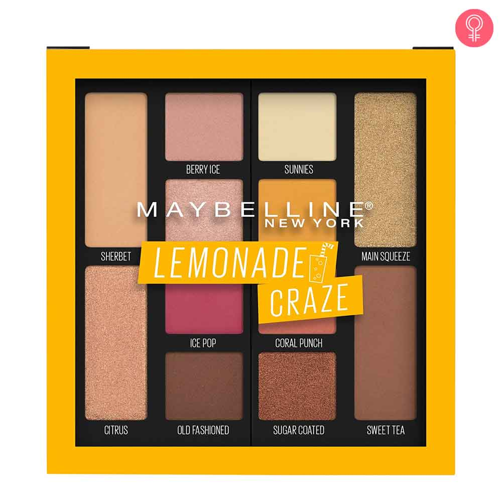 Maybelline New York Lemonade Craze Eyeshadow Palette