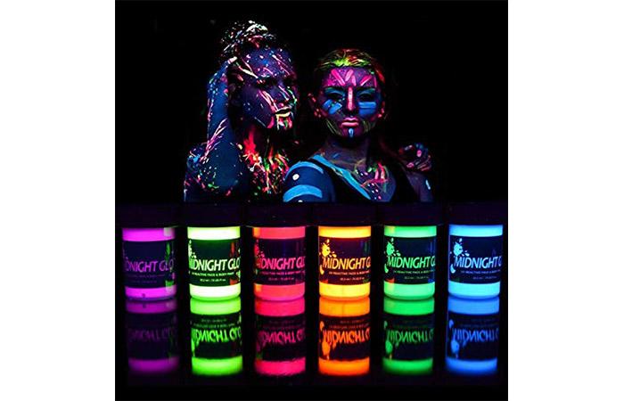 Midnight Glo UV Reactive Face
