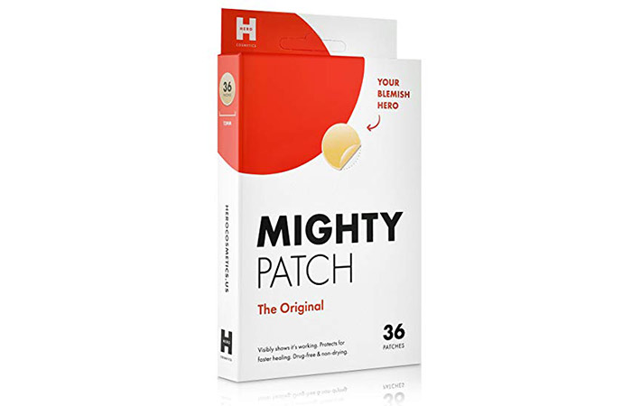 Mighty Patch Original Hydrocolloid Patch Spot Treatment