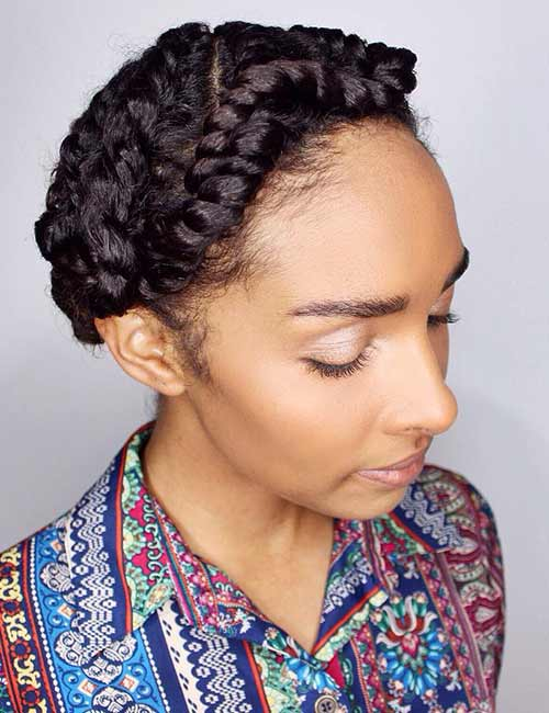 Milkmaid Flat Twists