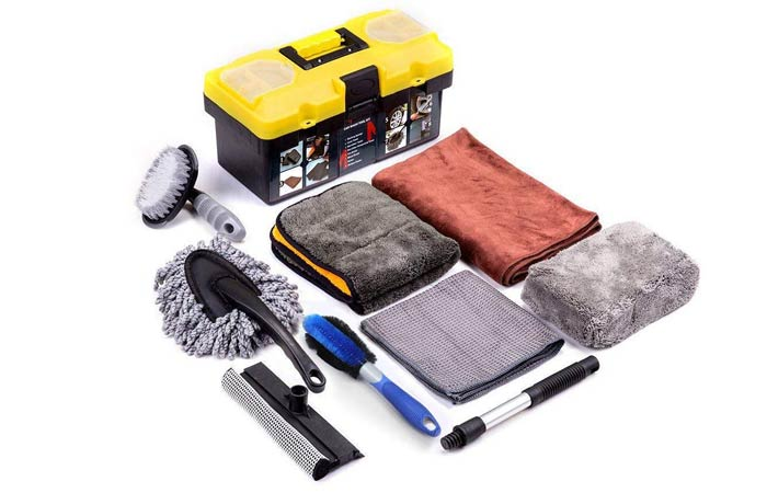 Mofeez Car Cleaning Tools Kit