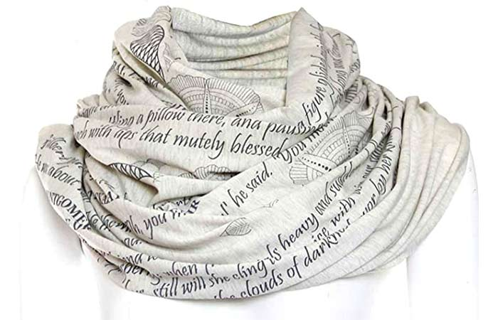Mothers Tribute Book Scarf