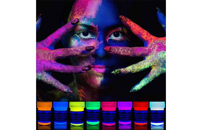 Neon Nights UV Body Paint
