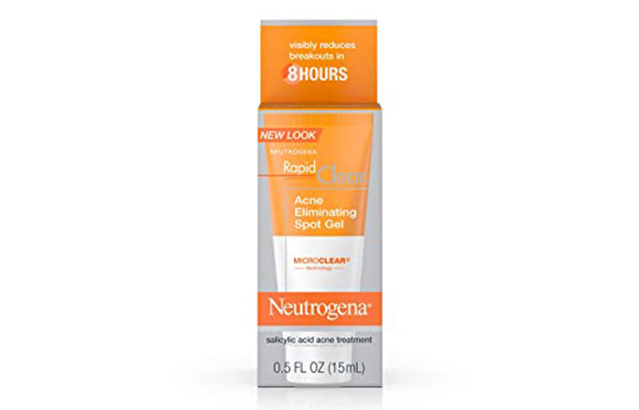 Neutrogena Rapid Clear Acne Eliminating Spot Treatment Gel