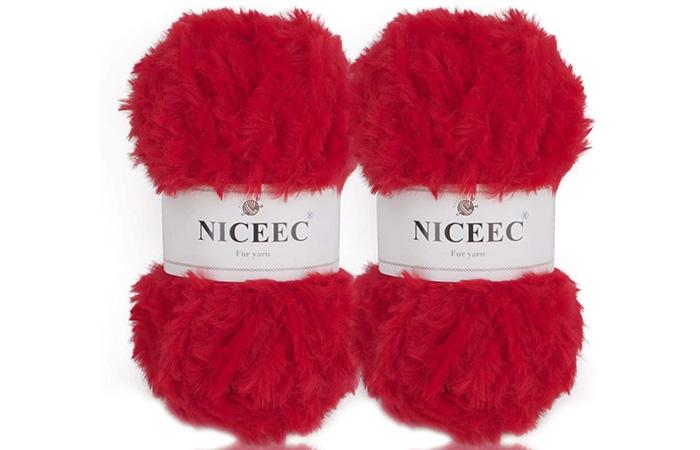 Nicees Super Soft Fur Yarn Skeins