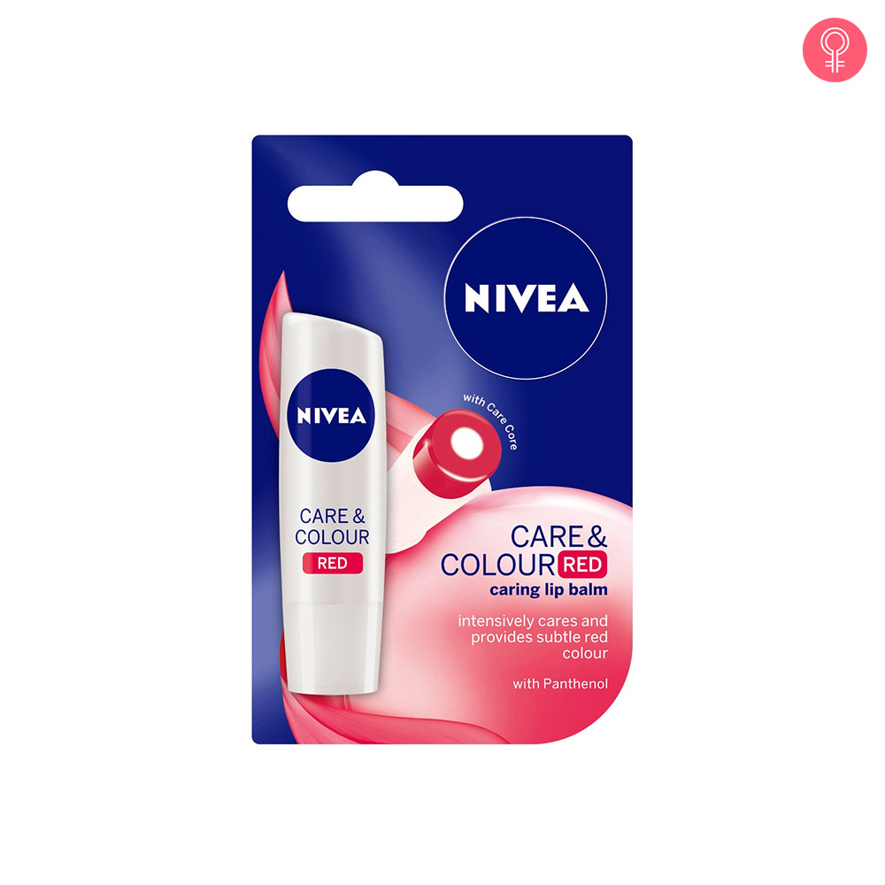 Nivea Care & Color Red Lip Balm