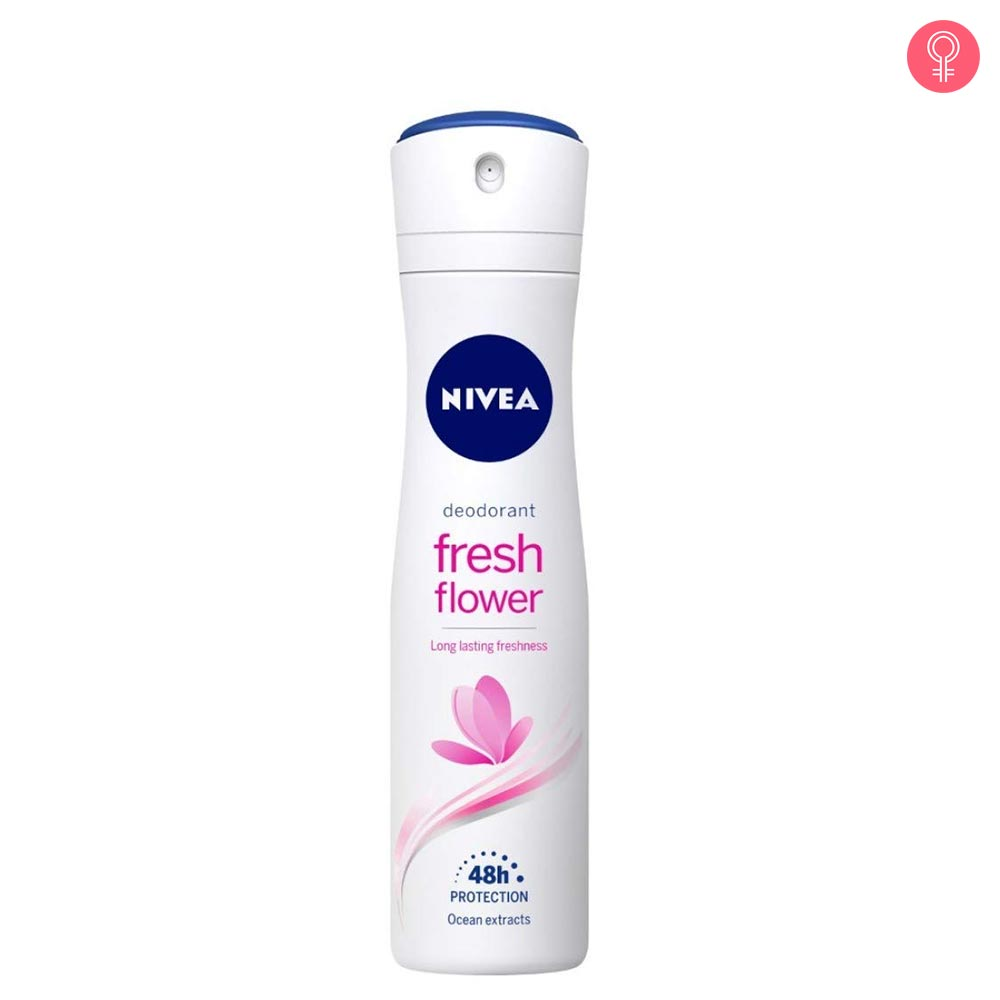 Nivea Fresh Flower Deodorant Long Lasting Freshness
