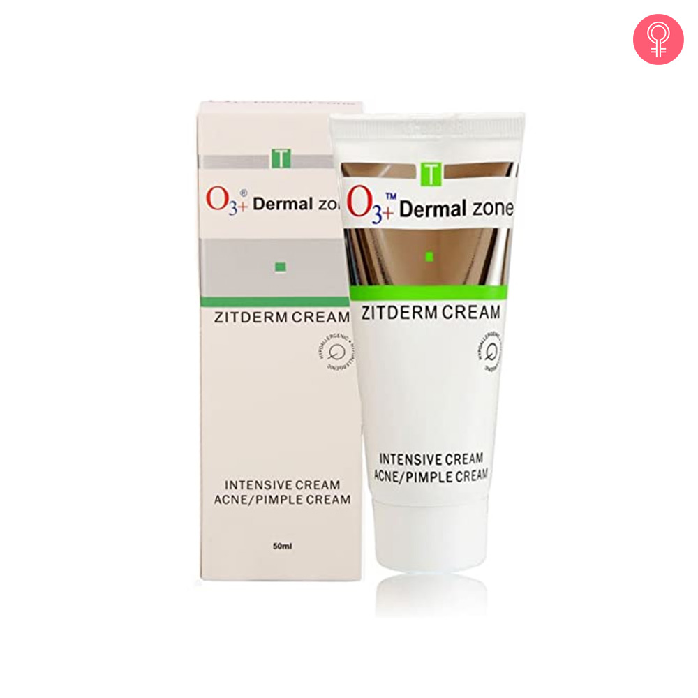 O3+ Dermal Zone Zitderm Intensive Acne & Pimple Cream