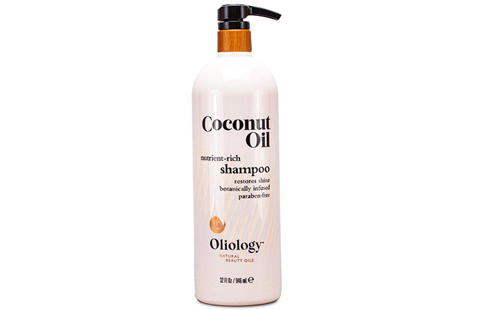 Oliology Natural beauty Oil Coconut Oil Nutrient Rich Shampoo