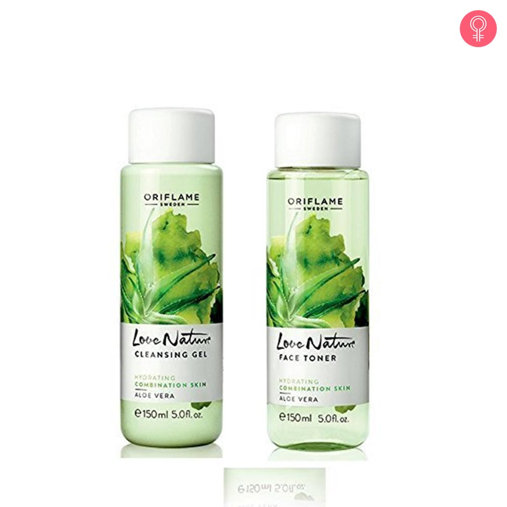 Oriflame Love Nature Face Toner Aloe Vera