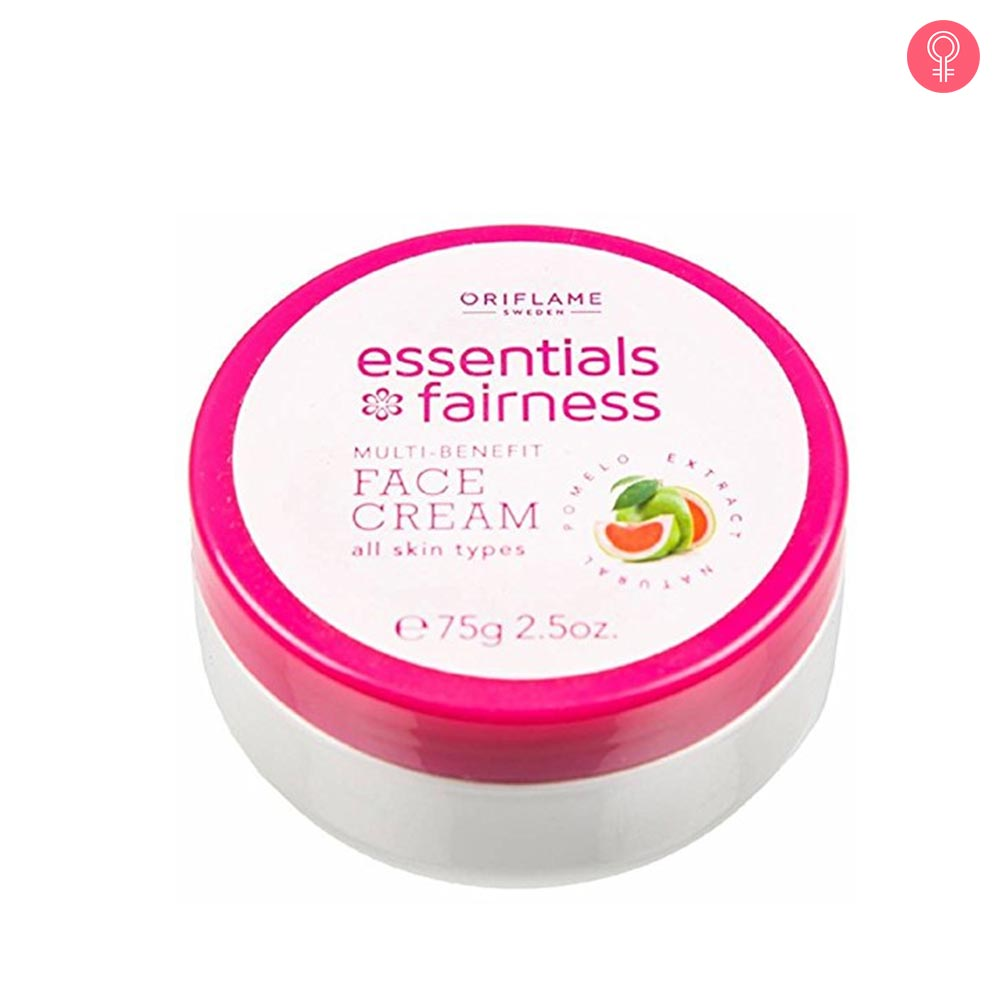 Oriflame Sweden Essentials Fairness Multi Benefit Face Cream