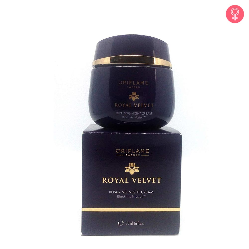 Oriflame Sweden Royal Velvet Repairing Night Cream