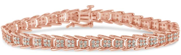 Original Classics Rose-Cut Fan-Shaped Diamond Bracelet