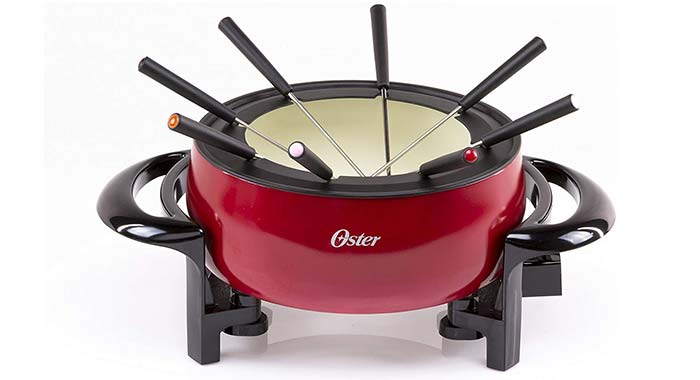 Oster Titanium Infused DuraCeramic Fondue Pot