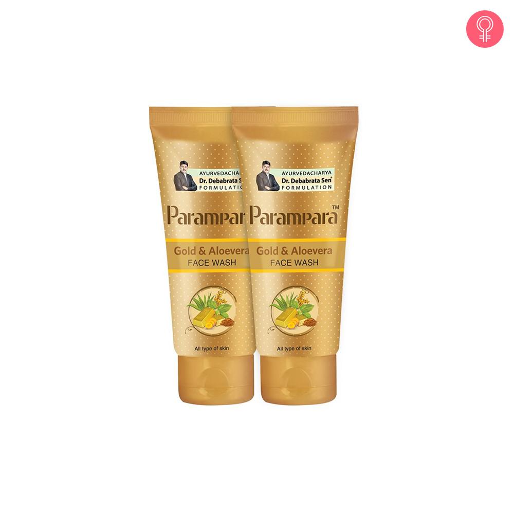 Parampara Gold & Aloevera Face Wash