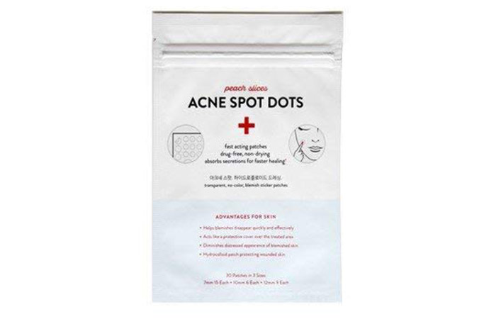 Peach Slices Acne Spot Dots Facial Treatment