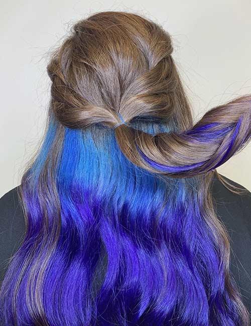Peekaboo Blue And Purple