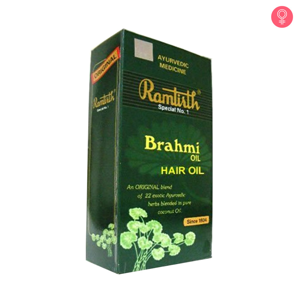 Ramtirth Brahmi Hair Oil