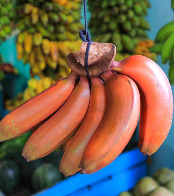 Red Banana Benefits and Side Effects in Hindi