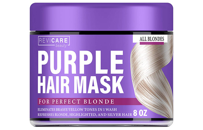 Revicare Beauty Purple Hair Mask For Perfect Blonde