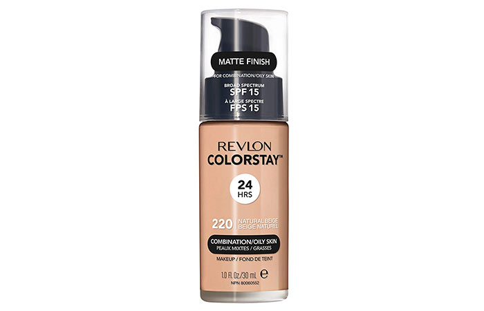 Revlon Colorstay Liquid Foundation For CombinationOily Skin
