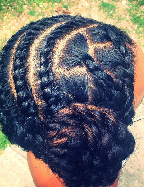 Rose Flat Twists