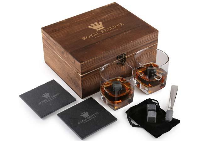 Royal Reserve Whiskey Stones Set