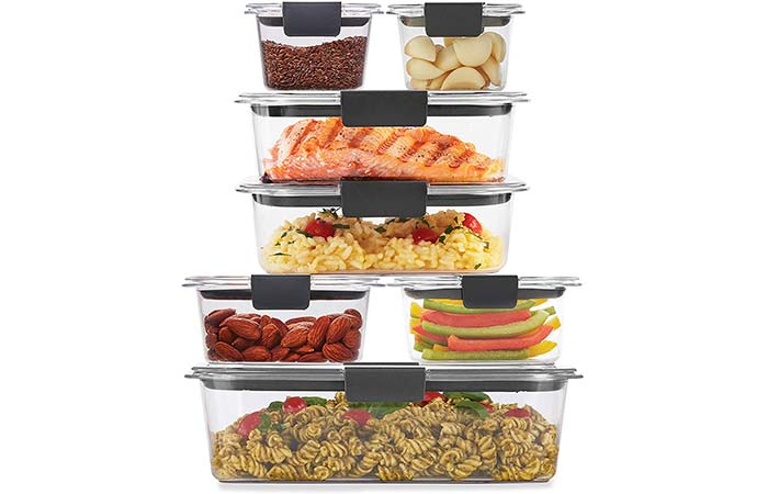 Rubbermaid Storage Food Containers