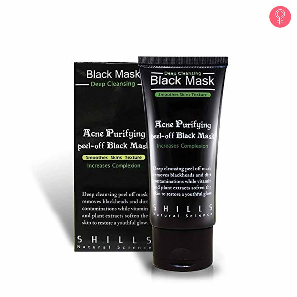 SHILLS Acne Purifying Peel Off Black Mask