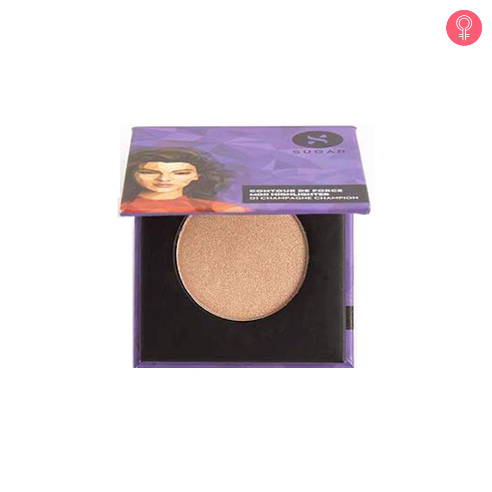 SUGAR Cosmetics Contour De Force Mini Highlighter