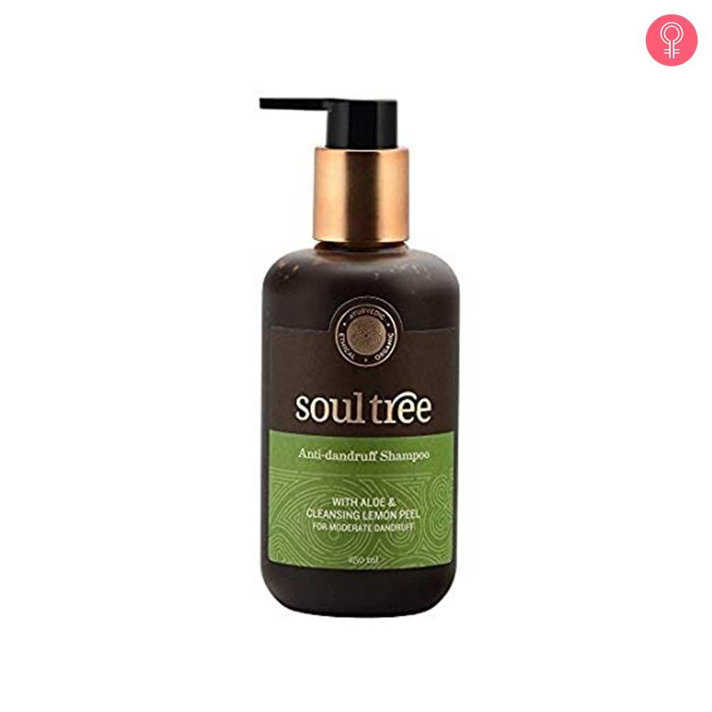 SoulTree Anti Dandruff Shampoo With Aloe & Cleansing Lemon Peel