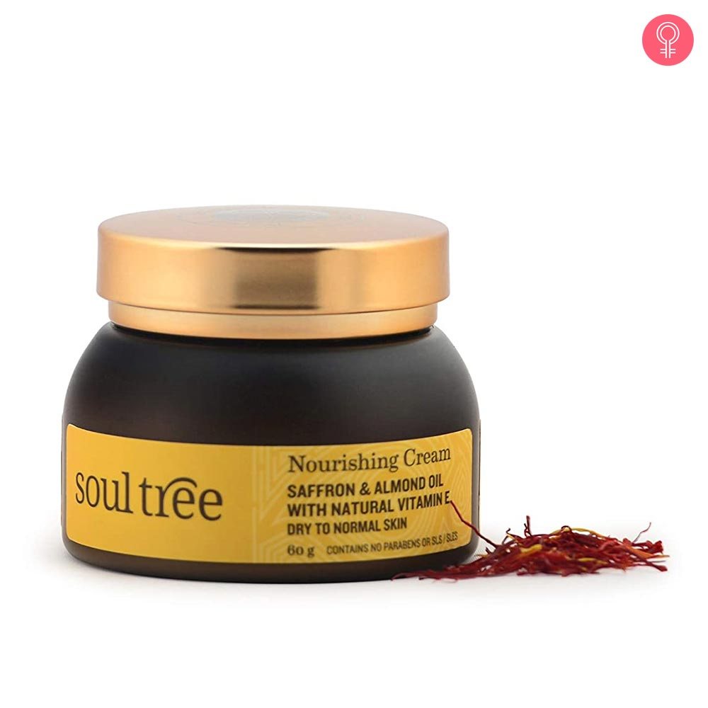 SoulTree Nourishing Cream – Saffron & Almond oil