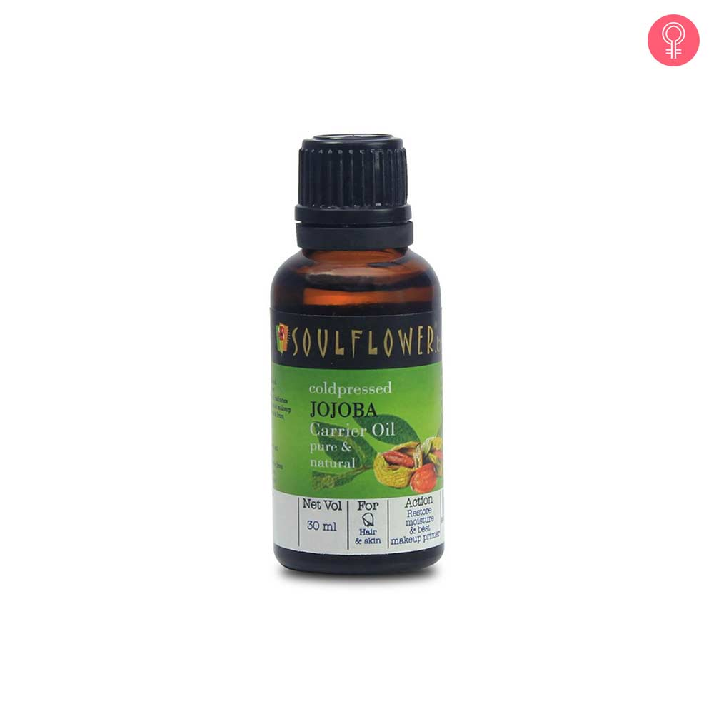 Soulflower Coldpressed Jojoba Carrier Oil