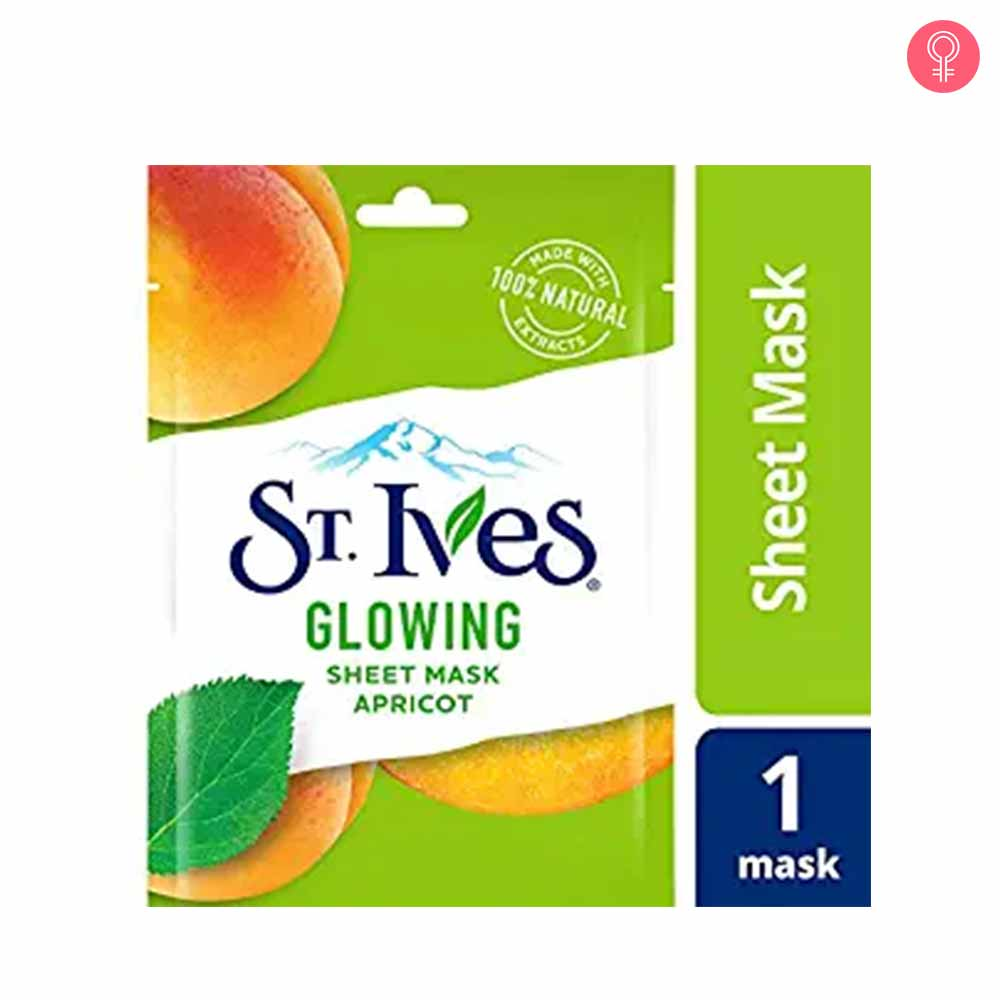 St. Ives Glowing Skin Apricot Sheet Mask