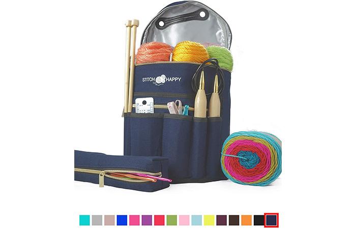 Stitch Happy Knitting Bag