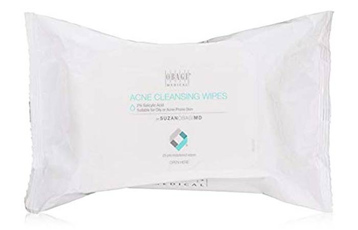 Suzan Obagi Medical Acne Cleansing Wipes