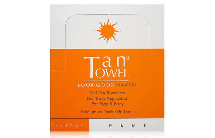 Tan Towel Self-Tan Towelette Plus
