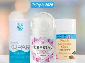 Top 10 Alcohol-Free Deodorants To Try In 2020