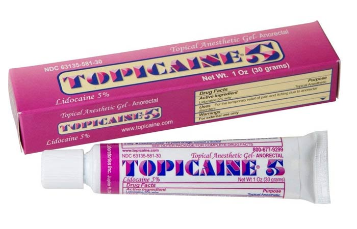 Topicaine 5 Topical Anesthetic Gel
