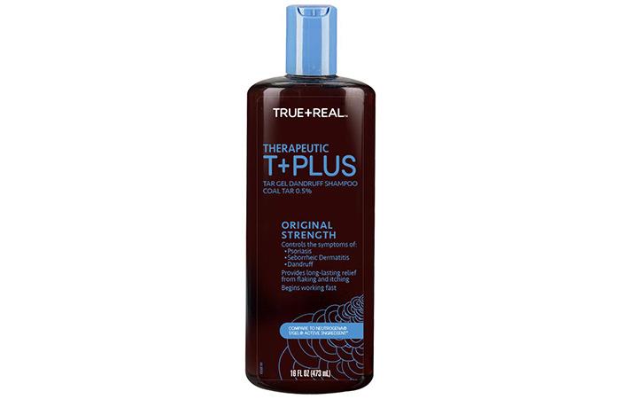 شامبو True + Real Therapeutic Plus Tar Gel Dandruff Shampoo.jpg