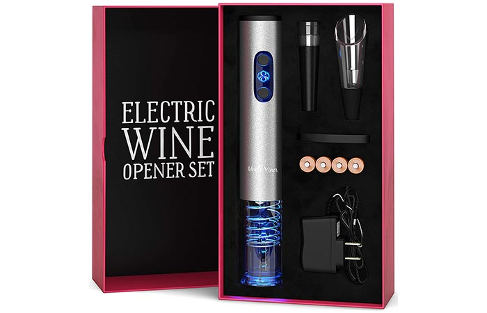 Uncle Viner Electric Wine Opener Set
