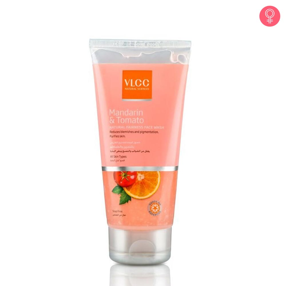 VLCC Mandarin & Tomato Natural Fairness Face Wash