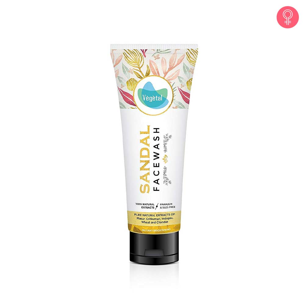 Vegetal Sandal Face Wash